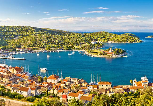 Die Insel Vis, Kroatien