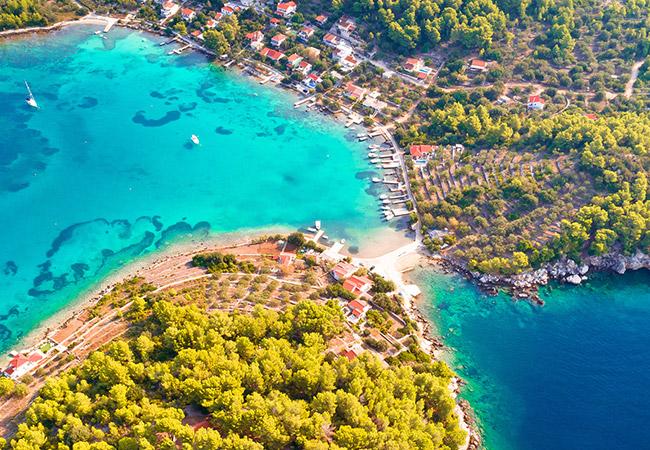 Insel Korčula, Kroatien